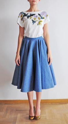 Szyjemy Sukienki Waist Skirt, Midi Skirt, High Waisted Skirt, Rebel, Classic Style, Vanity, Skirts, Fashion, Dressing Tables