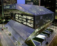 OMA | LMN, Seattle Central Library