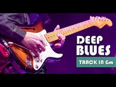 Slow Deep Minor Blues Guitar Backing Track Jam in Gm Blues Guitar Chords, G Minor, Backing Tracks, Soloing, Excercise, Music Stuff, Instruments, Deep, Ejercicio