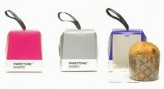 Pantone Packaging for Italian Panetone bread