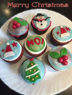 christmas cupcake for 2014