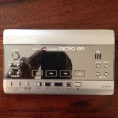 Boss Micro BR digital recorder (& Charger) in Musical Instruments   eBay