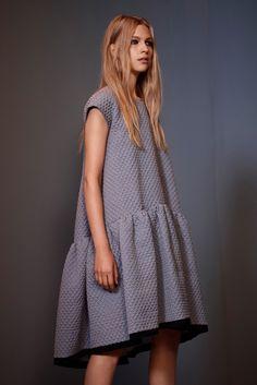 Victoria, Victoria Beckham Spring 2014 #drop-waist #dress