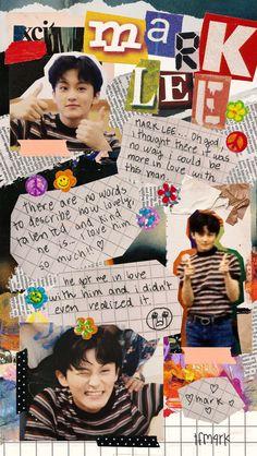 Mark Lee, J Pop, Aesthetic Collage, Kpop Aesthetic, Nct 127 Mark, Nct Life, K Wallpaper, Boyfriend Material, Jaehyun