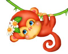 "Photo from album ""Обезьянки"" on Yandex. Cartoon Monkey, Monkey Art, Emoji Monkey, Monkey Baby Shower Decorations, Safari, Monkey Pictures, Fantasy Monster, Printable Stickers, Kids Cards"
