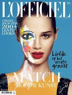Anais Pouliot - L'Officiel Magazine Cover [Netherlands] (February 2014)