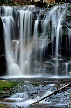 Elakala Falls.  Blackwater Falls State Park