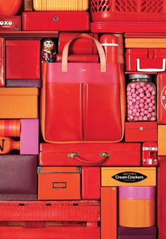 spring/summer 2012 look book images Anya Hindmarch