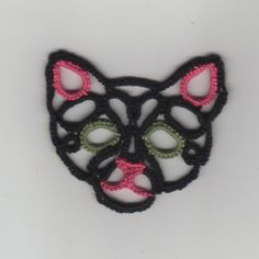 Kitty Face .... free tatting pattern  & diagram by LShelby
