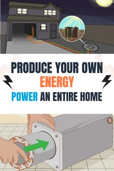 New Discovery - Power Efficiency Guide Energy Saving Tips, Save Energy, Shipping Container House Plans, Diy Home Repair, Energy Projects, Cabin Plans, Small House Plans, Alternative Energy, Diy Home Improvement