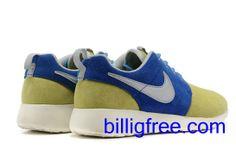 Verkaufen billig Schuhe Damen Nike Roshe Run (Farbe: Vamp - blau, gelb , innen , Sohle, Logo - weiB ) Online in Deutschland.