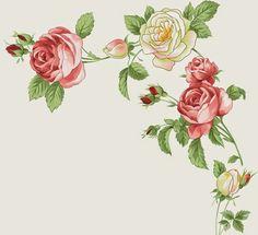 Decora con Flores: Laminas de rosas para decoupage y decoracion 08