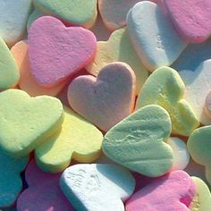 Pastel Candy Hearts
