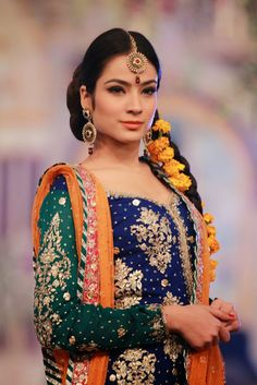 Pakistani Bridal Fashion - Pantene Bridal Couture Week PBCW 2013 - Maria B