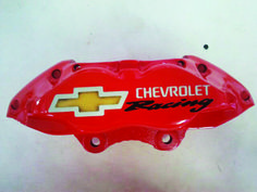 Auto Calipers Chevrolet painted by PAZ.