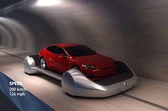 Electric Semi Truck, Design Transport, Future Inventions, Le Tunnel, Tesla S, Transportation Design, Future Car, Tunnels, Automobile