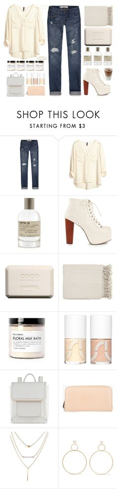 """Thanks for the 80k+ mark :)"" by nosleeptilbrooklyn ❤ liked on Polyvore featuring Abercrombie & Fitch, H&M, Le Labo, Jeffrey Campbell, Chanel, Surya, Fig+Yarrow, Uslu Airlines, ALDO and Marni Edition"