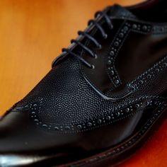 #grainleather vamp detail #fw1516 #criscishoes // #crisci #shoes #footwear #shoemaker #menshoes #handmadeshoes #classicshoes #sprezzatura