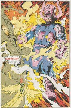 Rachel Grey Phoenix vs Galactus
