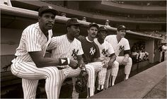 Dave Winfield, Willie Randolph, Don Mattingly, Rickey Henderson and Dave Righetti