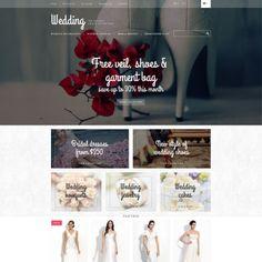 Wedding Album Website Template Character Design Pinterest