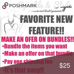💖✨BUY ONE GET ONE 1/2 OFF✨💖 ✨💖MAKE AN OFFER ON BUNDLES💖✨MUST UPDATE THE POSHMARK APP FOR THIS FEATURE TO WORK Accessories