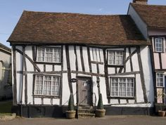With its half-timbered cottages and a 15th-century church, Lavenham in Suffolk is one of the best-preserved medieval villages in Britain.