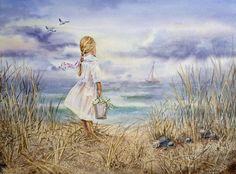ღღ  Ocean Painting - Ocean Fine Art Print - Irina Sztukowski