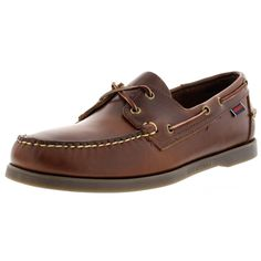 f5f9363d2d3 Sebago - Men s Docksides Leather Boat Shoes - Brown