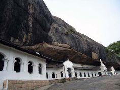 Rock cave temple Dabulla