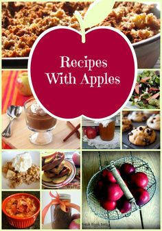 17 Recipes with Apples--Gluten free, refined sugar free recipes. Many are GAPS / SCD legal, many are Paleo.