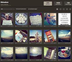 View Instagram Feed on Desktop via lilblueboo.com #statigram