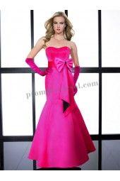Plum satin Party Dress NY1416