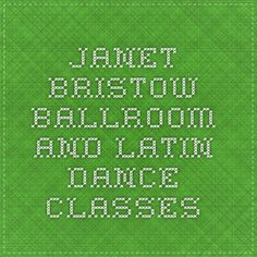 Janet Bristow - Ballroom and Latin Dance Classes