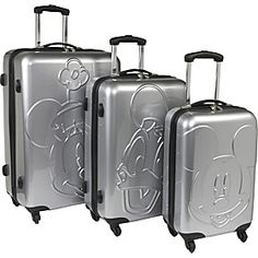 Mickey Mouse suitcases - how to travel in style!