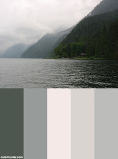 Pacific Northwest Color Scheme