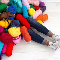 October is Celebrate by stocking up on your favorite yarns at up to off or maybe even show off your love of yarn! Leg Warmers, Yarns, Your Favorite, October, Stockings, Legs, My Love, Celebrities, Heart