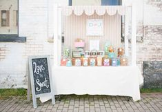 Full Vintage Candy Table