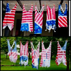 4th of July Tshrits DIY