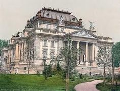 Wiesbaden Germany Opera House = A stop on my remarkable visit to Wiesbaden.
