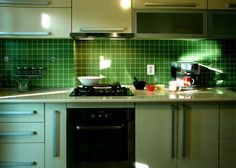 casa color verde