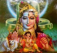 Shiva Shakti and Ganesh