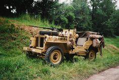 SAS desert jeep