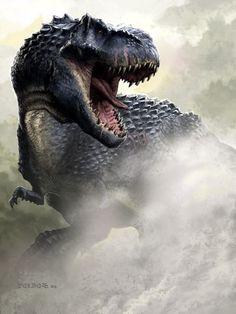 Prelude | Vastatosaurus Rex vs Indominus Rex by superidot9000 on DeviantArt