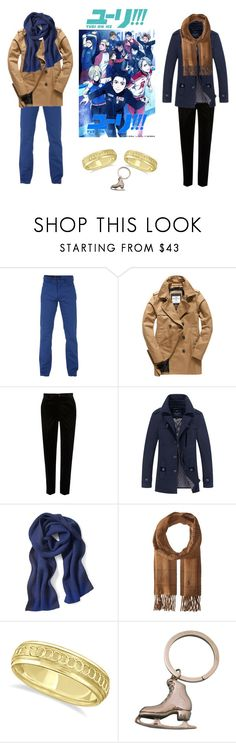 """VICTURI IS CANNON"" by milayla08 on Polyvore featuring Trussardi, Superdry, River Island, Banana Republic, Polo Ralph Lauren, Allurez, Tiffany & Co., men's fashion and menswear"