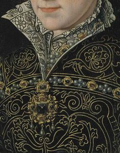 Mary I of England (detail) After Antonis Mor, c.1570