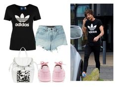 """Adidas"" by grateful-angel ❤ liked on Polyvore featuring T By Alexander Wang, adidas Originals, adidas and Snob Essentials"