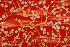 Red Plum Trees $15.50 / 24x37 full sheet