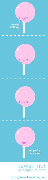 Kawaii Not - Lollipop