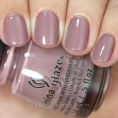 China Glaze My Lodge Or Yours | Fall 2015 The Great Outdoors Collection | Peachy Polish